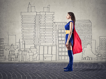 courage: super woman