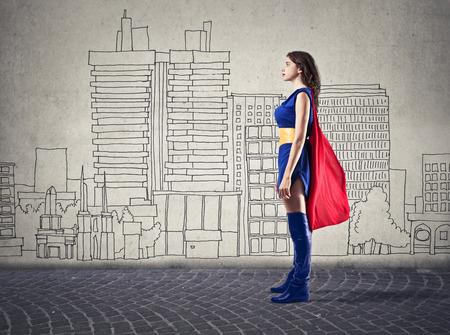 immagination: super woman