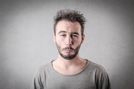 Confused man photo