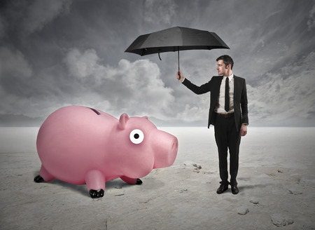 Saving money conceptual  photo