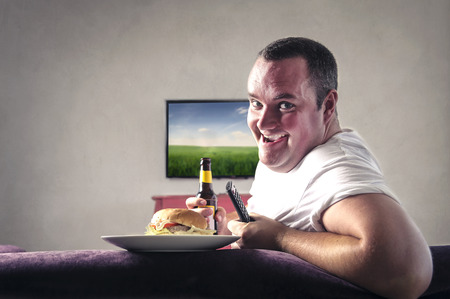 Food and tv photo