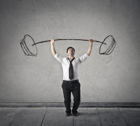 heavy weight: Strength