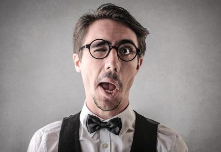 男性のジョークを再生 写真素材