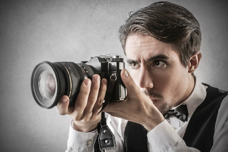 プロの写真家