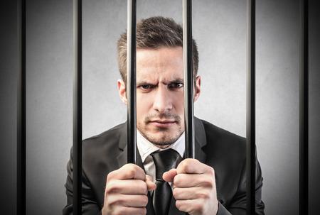 sentenced: Inprisonment Stock Photo