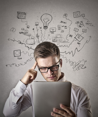 too many: Too many decisions to make Stock Photo