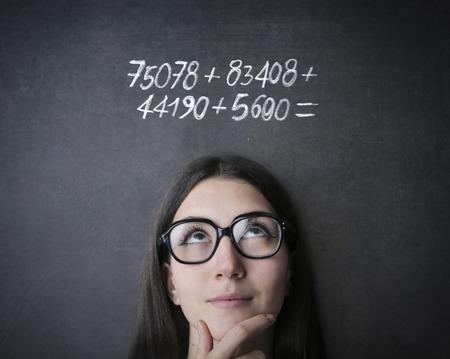 数学 写真素材