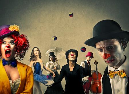zábava: Cirkus Reklamní fotografie