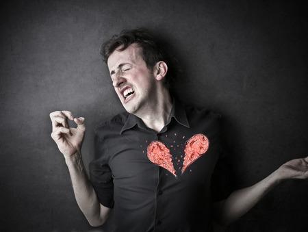 corazon roto: Una situaci�n dolorosa