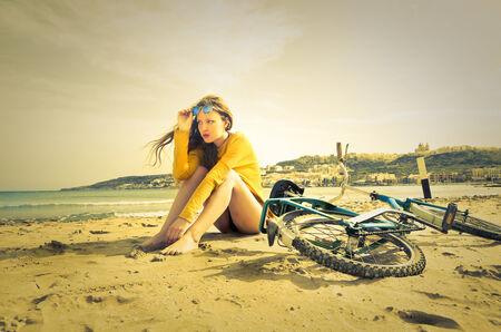 wellfare: At the seaside Stock Photo