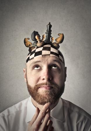 Chess game Imagens