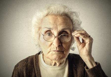 Femme âgée\ Banque d'images - 36222746