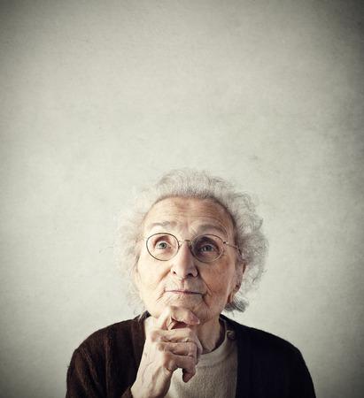 grandma: Grandma is thinking of something