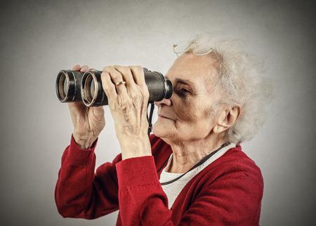 双眼鏡 写真素材