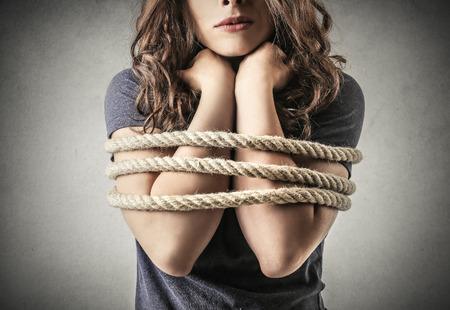 gefesselt: Trapped M�dchen