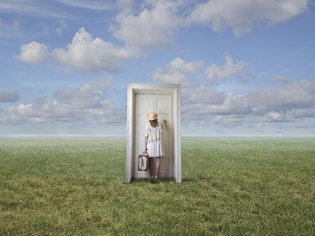 tocar la puerta: Un lugar desconocido