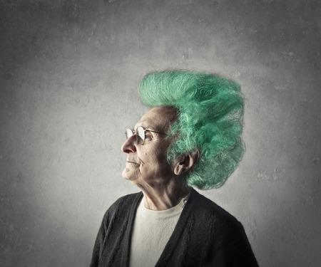 hair dye: Wrong hair dye