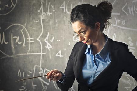 A severe teacher