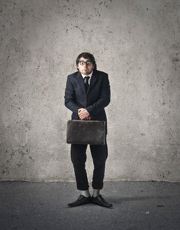 shyness: A weird employee