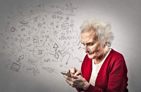 pension: Technological grandma