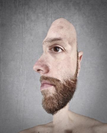 adult profile: Portrait and profile