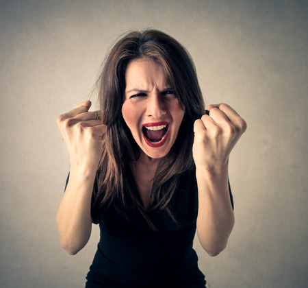 screaming girl: Screaming girl Stock Photo