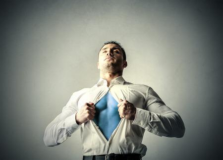 superman: Powerful man