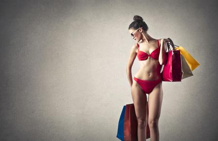 beauty shop: Shopping bags