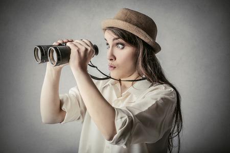 Binoculars Zdjęcie Seryjne