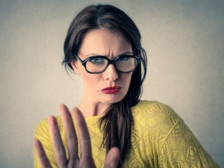 stop gesture: Stop gesture