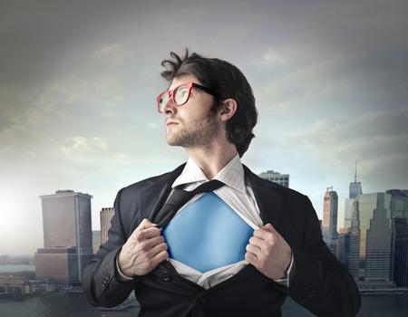 Sauver la ville puissant homme d'affaires