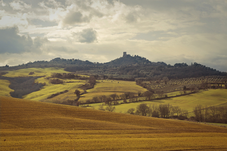 val d'orcia: A beautiful landscape