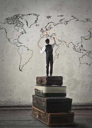 adventure travel: World map