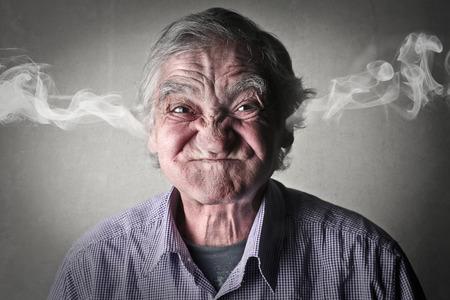 Uomo arrabbiato Archivio Fotografico - 39901535