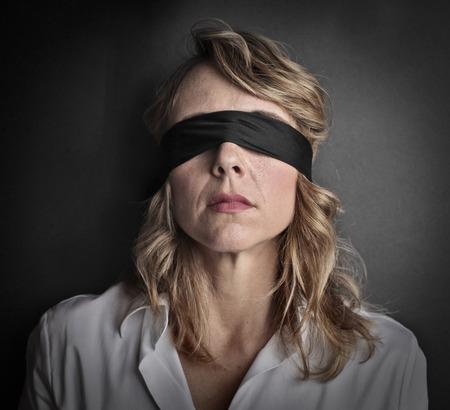盲目の女性 写真素材 - 39901906