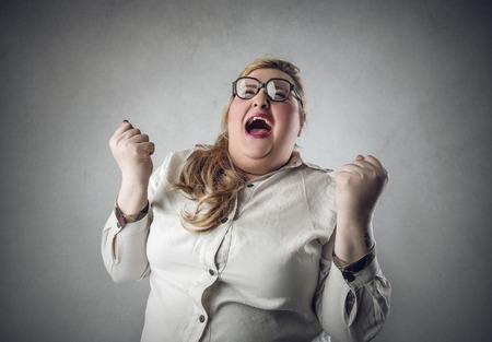 Screaming femme Banque d'images - 39893039