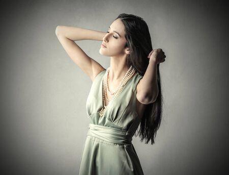 dark haired: Long dark haired girl