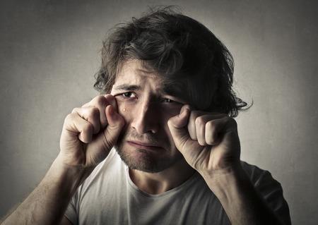 sensible: Crying man