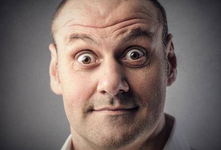 stupor: Surprised man