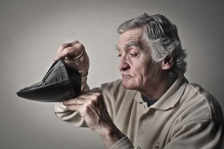 poor man: Pobre hombre Foto de archivo