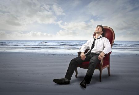 Relaxed manager Фото со стока - 39800266