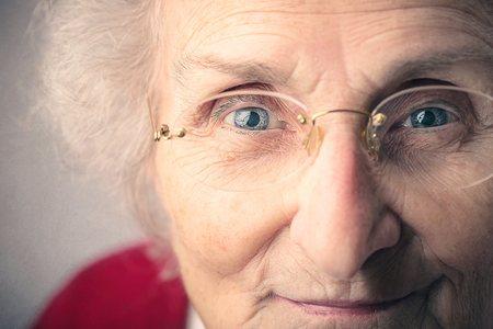 abuela: Sonriendo abuela