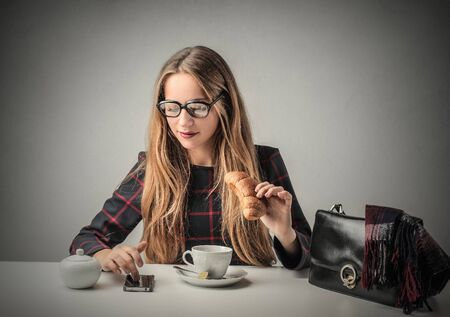 english girl: Breakfast time