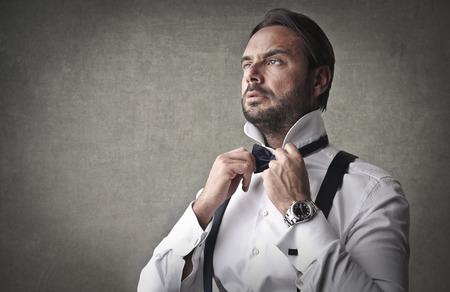 arrogant: Elegant businessman