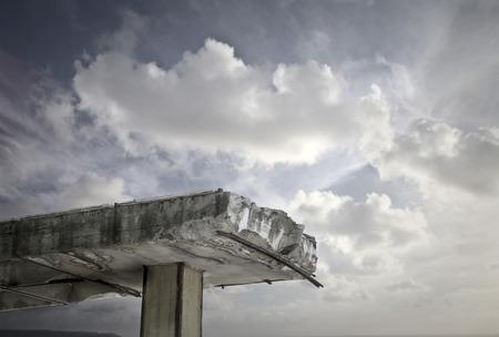 壊れた橋 写真素材 - 40877642