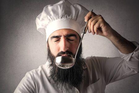 foretaste: Cook tasting food