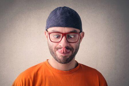 nariz: Chistes hombre haciendo Jóvenes
