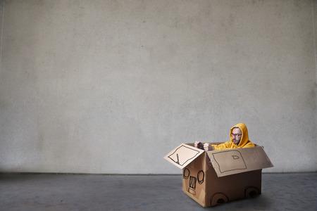 Weird car driver