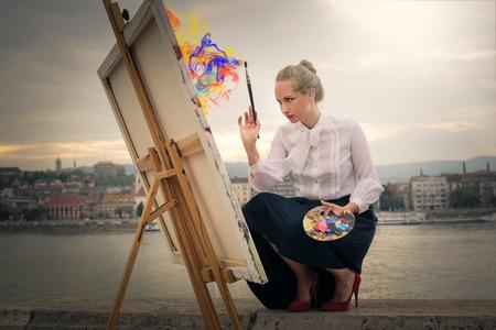 The magic of art Standard-Bild