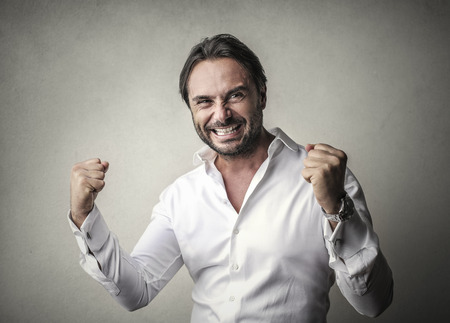 success: Successful businessman